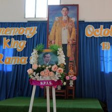 Anniversary of the death of King Rama 9